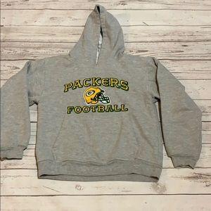 Girls GB Packers sweatshirt size large, 14/16